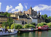 stockholm - Sodemalm Waterfront, Stockholm, Sweden, Scandinavia    Stock Photo - Premium Rights-Managednull, Code: 841-02704265