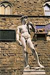 David statue, Piazza della Signoria, Florence, Tuscany, Italy, Europe    Stock Photo - Premium Rights-Managed, Artist: Robert Harding Images, Code: 841-02704267
