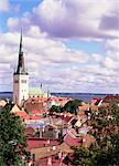 Old Town skyline and St. Nicholas church, Tallinn, Estonia, Baltic States, Europe    Stock Photo - Premium Rights-Managed, Artist: Robert Harding Images, Code: 841-02704339