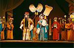Actors on stage during a traditional Sichuan Opera in China, Asia    Stock Photo - Premium Rights-Managed, Artist: Robert Harding Images, Code: 841-02704696