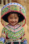 Portrait of a Hui Shui Miao child, Longlin, Guangxi, China, Asia    Stock Photo - Premium Rights-Managed, Artist: Robert Harding Images, Code: 841-02704735