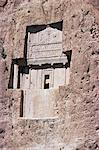 Tomb of Darius at Naqsh-e Rustam, Iran, Middle East    Stock Photo - Premium Rights-Managed, Artist: Robert Harding Images, Code: 841-02705045