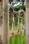 Hadrian's Villa, Canopus Canal, Tivoli, Lazio, Italy, Europe    Stock Photo - Premium Rights-Managed, Artist: Robert Harding Images, Code: 841-02705146