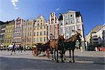The Rynek (Town Square), Wroclaw, Silesia, Poland, Europe    Stock Photo - Premium Rights-Managed, Artist: Robert Harding Images, Code: 841-02705565
