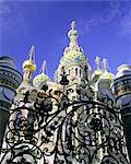 Church on Spilled Blood (Church of the Resurrection), UNESCO World Heritage Site, St. Petersburg, Russia, Europe    Stock Photo - Premium Rights-Managed, Artist: Robert Harding Images, Code: 841-02705610