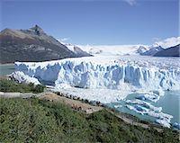 perito moreno glacier - Perito Moreno glacier, Parque Nacional Los Glaciares, UNESCO World Heritage Site, El Calafate, Argentina, South America    Stock Photo - Premium Rights-Managednull, Code: 841-02705763