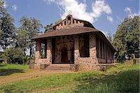 Trinity of the Mount of Light, UNESCO World Hetitage Site, Debre Berhan Selassie Church, Gonder, Ethiopia, Africa    Stock Photo - Premium Rights-Managednull, Code: 841-02705870
