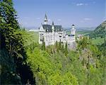 Royal castle, Neuschwanstein, Bavaria, Germany, Europe    Stock Photo - Premium Rights-Managed, Artist: Robert Harding Images, Code: 841-02706164