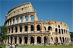 The exterior of the Colosseum in Rome, Lazio, Italy, Europe    Stock Photo - Premium Rights-Managed, Artist: Robert Harding Images, Code: 841-02706596
