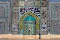 pilgrimartworks - Pilgrim at the Shrine of Hazrat Ali, Mazar-i-Sharif, Balkh, Afghanistan, Asia    Stock Photo - Premium Rights-Managednull, Code: 841-02707374