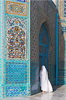 pilgrimartworks - Pilgrim at the Shrine of Hazrat Ali, Mazar-i-Sharif, Balkh, Afghanistan, Asia    Stock Photo - Premium Rights-Managednull, Code: 841-02707377