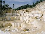 Marble quarry, Greece, Europe    Stock Photo - Premium Rights-Managed, Artist: Robert Harding Images, Code: 841-02708038