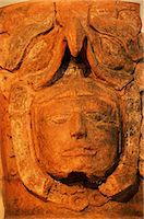 Mayan funerary urn, Popol Vuh Museum, Guatemala City, Guatemala, Central America    Stock Photo - Premium Rights-Managednull, Code: 841-02709548