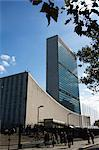 The United Nations Building, Manhattan, New York City, New York, United States of America, North America    Stock Photo - Premium Rights-Managed, Artist: Robert Harding Images, Code: 841-02709713