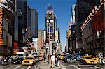 Times Square, Manhattan, New York City, New York, United States of America, North America    Stock Photo - Premium Rights-Managed, Artist: Robert Harding Images, Code: 841-02709741
