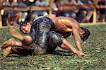 Wrestling, Antalya Stadium, Anatolia, Turkey, Asia Minor, Eurasia    Stock Photo - Premium Rights-Managed, Artist: Robert Harding Images, Code: 841-02710865