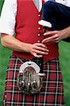 Detail of Highland dress, Blair Atholl Highland Games, Scotland, United Kingdom, Europe