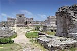 Mayan site of Tulum, Yucatan, Mexico, North America    Stock Photo - Premium Rights-Managed, Artist: Robert Harding Images, Code: 841-02711167