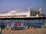Brighton Pier (Palace Pier), Brighton, East Sussex, England, United Kingdom, Europe    Stock Photo - Premium Rights-Managed, Artist: Robert Harding Images, Code: 841-02711463