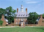 Exterior of Governor's Palace, colonial architecture, Williamsburg, Virginia, United States of America (USA), North America    Stock Photo - Premium Rights-Managed, Artist: Robert Harding Images, Code: 841-02711802