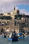 Mgar harbour, Gozo, Malta, Mediterranean, Europe    Stock Photo - Premium Rights-Managed, Artist: Robert Harding Images, Code: 841-02711844