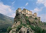 The Citadel at Corte, Corsica, France, Europe    Stock Photo - Premium Rights-Managed, Artist: Robert Harding Images, Code: 841-02711847