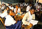 Students in classroom, secondary school, Ghana, West Africa, Africa    Stock Photo - Premium Rights-Managed, Artist: Robert Harding Images, Code: 841-02712163