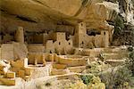 Cliff Palace, Mesa Verde National Park, UNESCO World Heritage Site, Colorado, United States of America, North America    Stock Photo - Premium Rights-Managed, Artist: Robert Harding Images, Code: 841-02713638