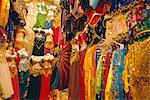 Garment shop, Grand Bazaar, Istanbul, Turkey, Eurasia