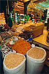 Food shop, Grand Bazaar, Istanbul, Turkey, Eurasia