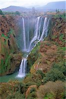 Ouzoud Waterfalls, Beni Melal, Morocco, North Africa    Stock Photo - Premium Rights-Managednull, Code: 841-02714305
