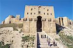 The Citadel, Aleppo, UNESCO World Heritage Site, Syria, Middle East    Stock Photo - Premium Rights-Managed, Artist: Robert Harding Images, Code: 841-02714579