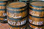 Barrels of rum, French Antilles, West Indies, Central America    Stock Photo - Premium Rights-Managed, Artist: Robert Harding Images, Code: 841-02715411