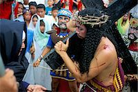 pictures philippine festivals philippines - Christ of Calvary in Easter procession, Morionnes, island of Marinduque, Philippines, Southeast Asia, Asia    Stock Photo - Premium Rights-Managednull, Code: 841-02715488