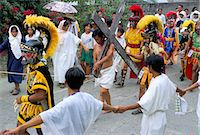 pictures philippine festivals philippines - Christ of Calvary in Easter procession, Morionnes, island of Marinduque, Philippines, Southeast Asia, Asia    Stock Photo - Premium Rights-Managednull, Code: 841-02715489