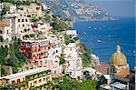 Positano, Amalfi Coast, Campania, Italy    Stock Photo - Premium Rights-Managed, Artist: Robert Harding Images, Code: 841-02715609