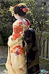 Geisha, Maiko in Gion, Kyoto city, Honshu, Japan, Asia    Stock Photo - Premium Rights-Managed, Artist: Robert Harding Images, Code: 841-02716921
