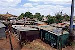 Shacks, Soweto, Johannesburg, South Africa, Africa