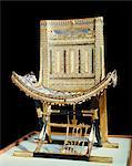 The ecclesiastical throne, from the tomb of the pharaoh Tutankhamun, discovered in the Valley of the Kings, Thebes, Egypt, North Africa, Africa    Stock Photo - Premium Rights-Managed, Artist: Robert Harding Images, Code: 841-02717838