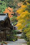 Buddhist temple, Koya-san, Kansai (Western Province), Honshu, Japan, Asia