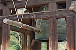 Great Bell of Todai-ji, Nara, Kansai (Western Province), Honshu, Japan, Asia    Stock Photo - Premium Rights-Managed, Artist: Robert Harding Images, Code: 841-02718773