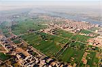 Luxor and the River Nile, Thebes, Egypt, North Africa, Africa