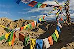 Prayer flags on the Peak of Victory, Leh, Ladakh, Indian Himalayas, India, Asia    Stock Photo - Premium Rights-Managed, Artist: Robert Harding Images, Code: 841-02719314