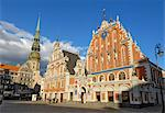 House of the Blackheads (Melngalvju Nams), Town Hall Square (Ratslaukums), Riga, Latvia, Baltic States, Europe    Stock Photo - Premium Rights-Managed, Artist: Robert Harding Images, Code: 841-02719723