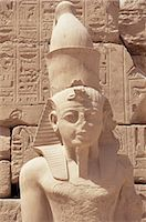 egyptian hieroglyphics - Statue of the pharaoh Ramses II, Karnak Temple, Thebes, UNESCO World Heritage Site, Egypt, North Africa, Africa    Stock Photo - Premium Rights-Managednull, Code: 841-02720269