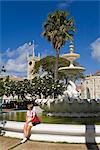 Fountain in Hero Square, Bridgetown, Barbados, West Indies, Caribbean, Central America    Stock Photo - Premium Rights-Managed, Artist: Robert Harding Images, Code: 841-02721203