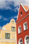 Penha Building painted yellow, Breedestraat, Punda District, Willemstad, Curacao, Netherlands Antillies, West Indies, Caribbean, Central America    Stock Photo - Premium Rights-Managed, Artist: Robert Harding Images, Code: 841-02721229
