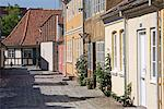 Overgade and Nedergate, area where Hans Christian Andersen was born, Odense, Funen, Denmark, Scandinavia, Europe    Stock Photo - Premium Rights-Managed, Artist: Robert Harding Images, Code: 841-02721942