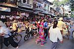 Bustling street in the old quarter, Hanoi, Vietnam, Indochina, Southeast Asia, Asia    Stock Photo - Premium Rights-Managed, Artist: Robert Harding Images, Code: 841-02722859