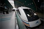MAGLEV Train Station, Shanghai, China    Stock Photo - Premium Rights-Managed, Artist: Mark Downey, Code: 700-02723084